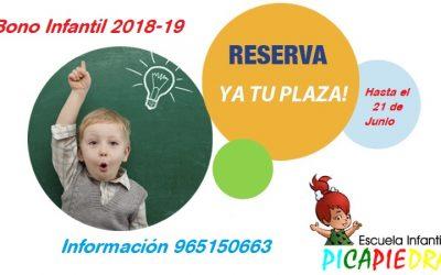 Bono Infantil 2018-19
